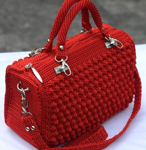5 of the most awesome crochet bags on Pinterest