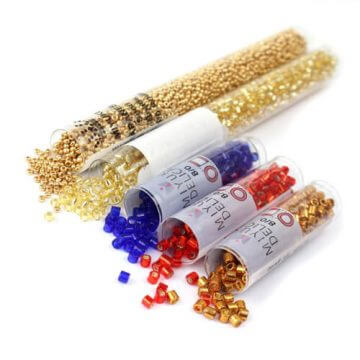 How many beads in a beads crochet project?