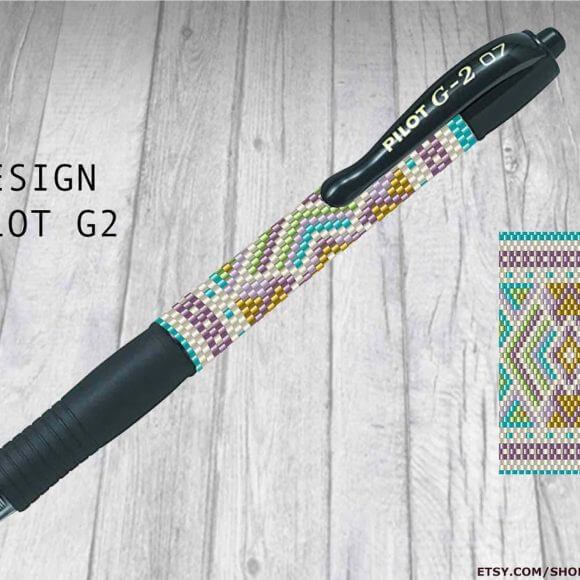 Special Pen Cover Patterns for the Pilot G2