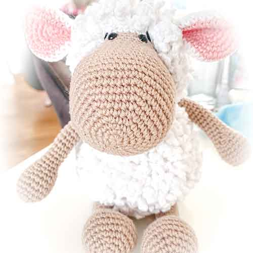 Amigurumi Bibi the Sheep