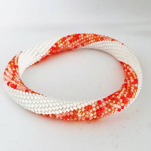 Roll-on bracelet orange
